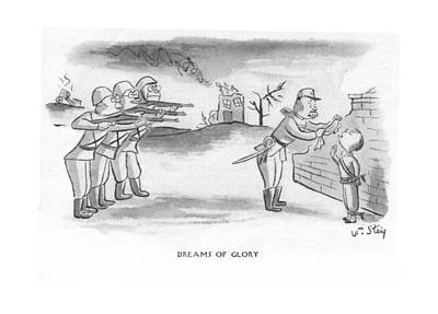 Execution Drawing - Dreams Of Glory by William Steig