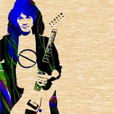 Eddie Van Halen Collection Art Print