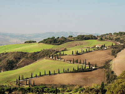 Julie Photograph - Europe, Italy, Tuscany by Julie Eggers