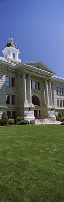 Facade Of A Government Building Art Print