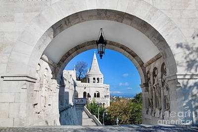 Photograph - Fisherman's Bastion In Budapest by Michal Bednarek