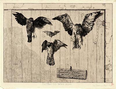 Félix Bracquemond French Art Print
