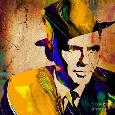 Frank Sinatra Print by Marvin Blaine