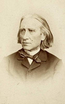Photograph - Franz Liszt (1811-1886) by Granger