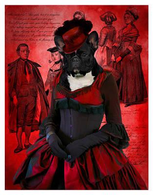 Painting - French Bulldog Art Canvas Print by Sandra Sij