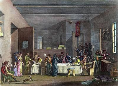 French Revolution, 1793 Art Print