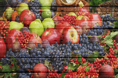 Fruit Art Print by Joe Hamilton