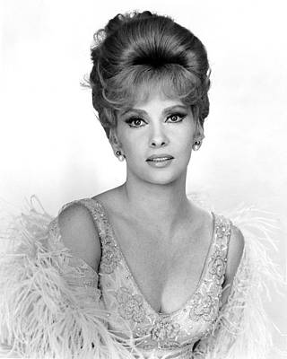 Gina Photograph - Gina Lollobrigida by Silver Screen