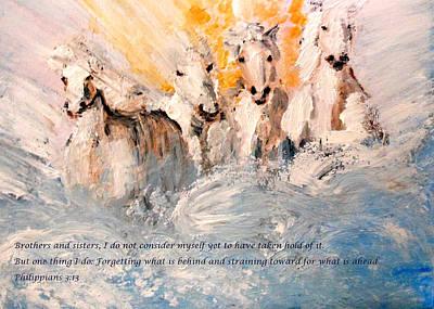 God Is Love Art Print by Amanda Dinan