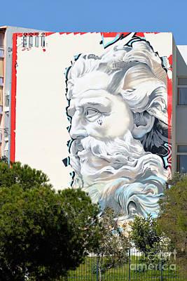 Graffiti Photograph - Graffiti On A Wall by George Atsametakis