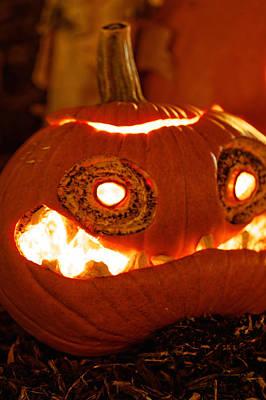 Photograph - Halloween Pumpkin by Peter Lakomy