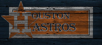 Astro Photograph - Houston Astros by Joe Hamilton