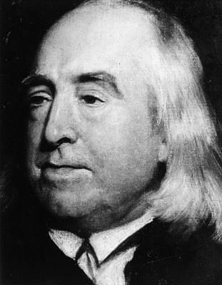 Jeremy Painting - Jeremy Bentham (1748-1832) by Granger