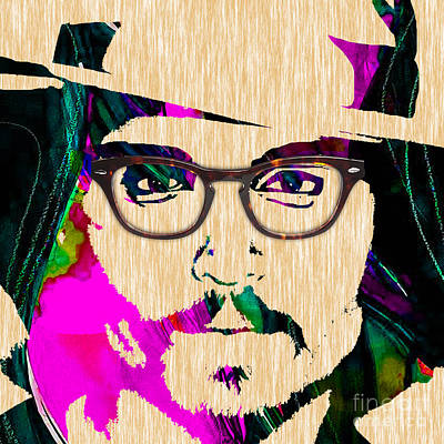 Johnny Depp Mixed Media - Johnny Depp Collection by Marvin Blaine