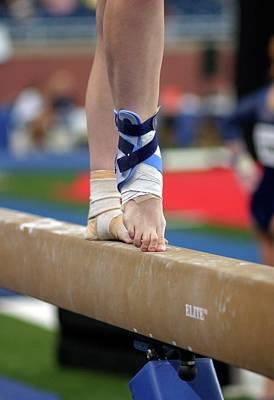 Gymnast Photograph - Junior Olympics by Jim West