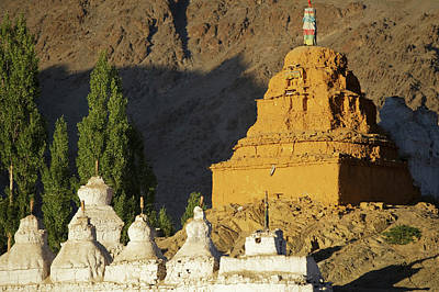 Ladakh, India Religious Structures Art Print by Jaina Mishra