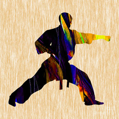 Martial Arts Karate Art Print