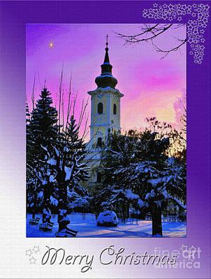 Photograph - Christmas Card 23 by Nina Ficur Feenan