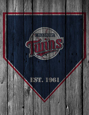 Minnesota Photograph - Minnesota Twins by Joe Hamilton