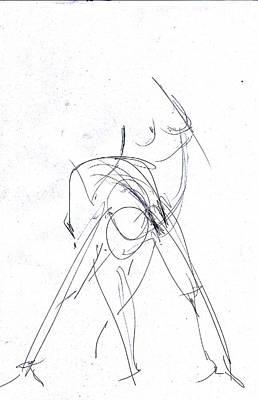 Drawing - 10 Minutes by John Jr Gholson