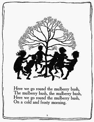 Mother Goose Drawing - Mother Goose, 1913 by Granger