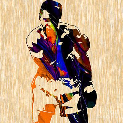 Ali Mixed Media - Muhammad Ali by Marvin Blaine