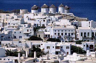 Photograph - Mykonos Town by George Atsametakis