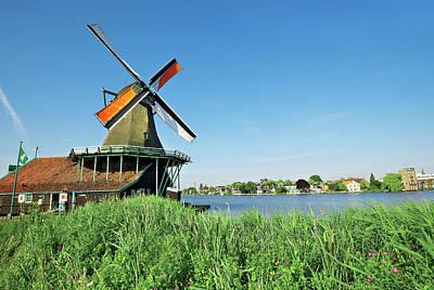 Zaans Photograph - Netherlands, North Holland, Zaanstad by Miva Stock