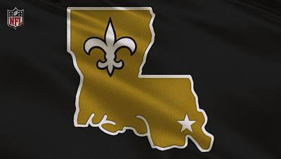 Orleans Photograph - New Orleans Saints Uniform by Joe Hamilton