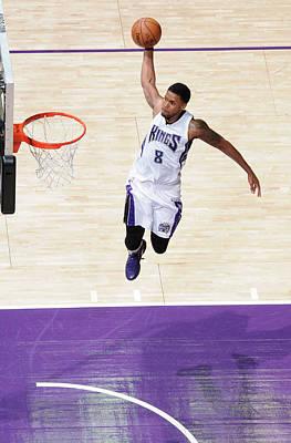 Photograph - New York Knicks V Sacramento Kings by Rocky Widner