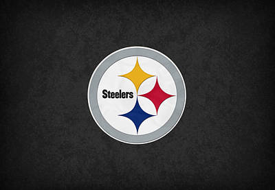 Card Players Photograph - Pittsburgh Steelers by Joe Hamilton