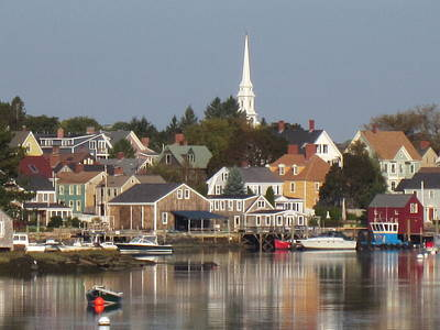 Photograph - New Castle Harbor Nh by Jeffrey Akerson
