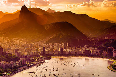 Photograph - Rio De Janeiro City by Celso Diniz