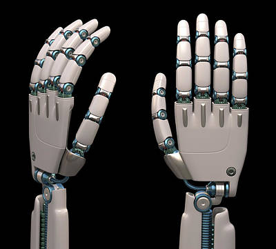 Automated Photograph - Robotic Hand by Ktsdesign