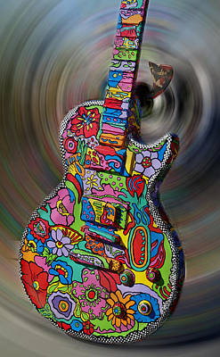 Rock N Roll Collection Art Print