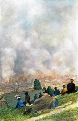 San Francisco, 1906 Art Print by Granger
