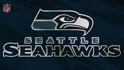 Galaxies Photograph - Seattle Seahawks Uniform by Joe Hamilton