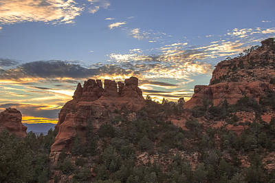 Photograph - Sedona Sunset by Steven Lapkin