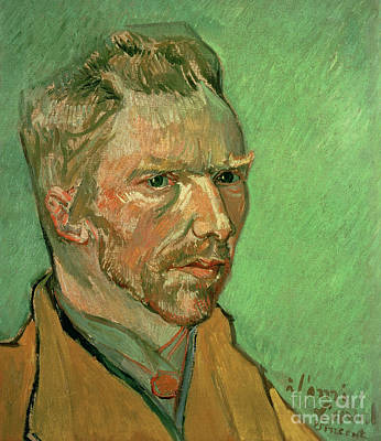 Nose Painting - Self Portrait by Vincent Van Gogh