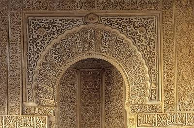 Spain. Granada. Alhambra. Alhambra Art Print