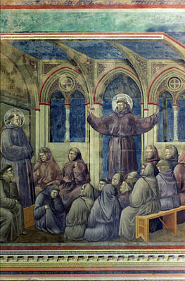 Painting - St Francis Of Assisi by Granger