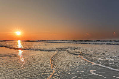 Photograph - Sunrise On Hilton Head Island by Peter Lakomy