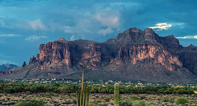 Photograph - Superstition Mountain by Tam Ryan