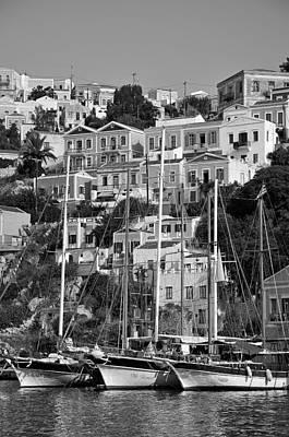 City Photograph - Symi Island by George Atsametakis
