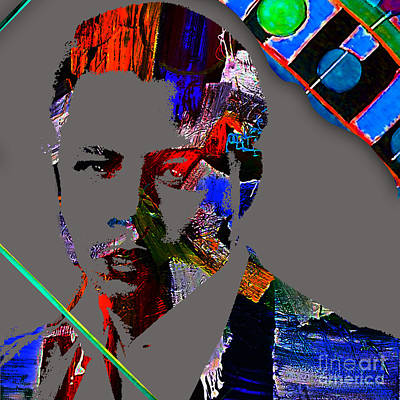 Actors Mixed Media - Terrence Howard Collection by Marvin Blaine