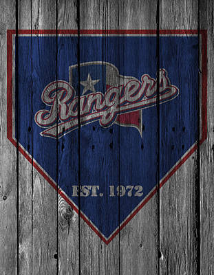 Texas Rangers Art Print by Joe Hamilton