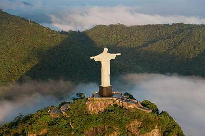 Jesus Photograph - The Art Deco Statue Of Jesus, Known by Peter Adams