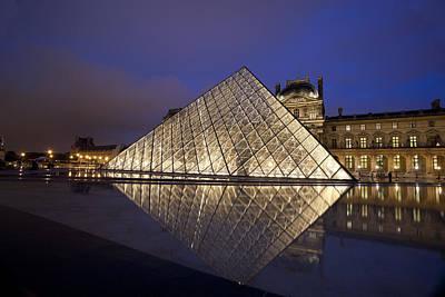 The Louvre Paris Art Print