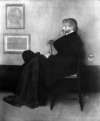 Whistler Painting - Thomas Carlyle (1795-1881) by Granger