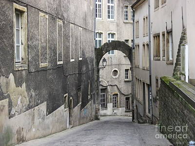 Pyrography - Through - Luxembourg by Chani Demuijlder